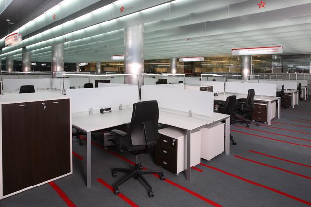 Аэроэкспресс, Solo Office Interiors