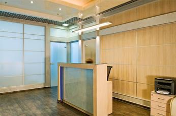 Solo Office Interiors. Офисный интерьер компании Телестар, Санкт-Петербург.